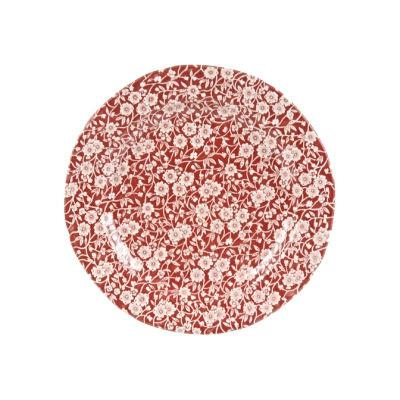 Burleigh Red Calico Lunch Plate 21.5cm
