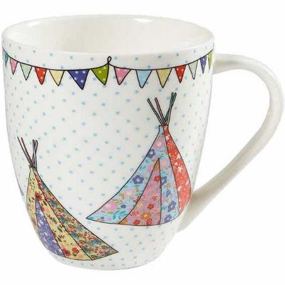 Caravan Trail Caravan Trail Mugs Mug Large Festival Teepees