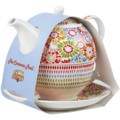 Caravan Trail Homeware Tea For One Caravan Trail Harbour Sands