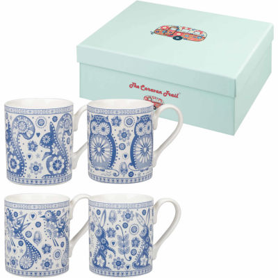 Caravan Trail Penzance Coffee Mug Penzance Set of 4