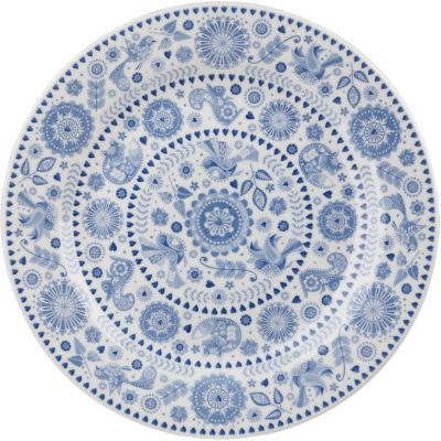 Caravan Trail Penzance Dinner Plate Concentric Circles 26cm