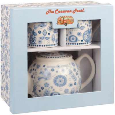 Caravan Trail Penzance Tea For Two Set