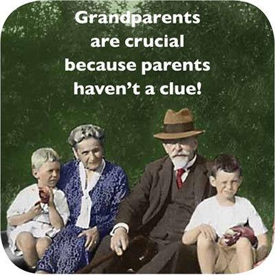 Cath Tate Photocaptions Coasters Grandparents Coaster