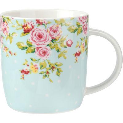 Catherine Lansfield Barrel Mug Canterbury Blue