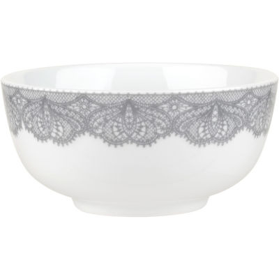 Catherine Lansfield Cereal Bowl 15cm Glamour Lace