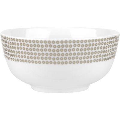 Catherine Lansfield Cereal Bowl 15cm Glamour Sequin Silver