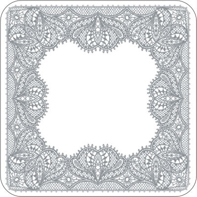 Catherine Lansfield Coaster Set of 4 Glamour Lace