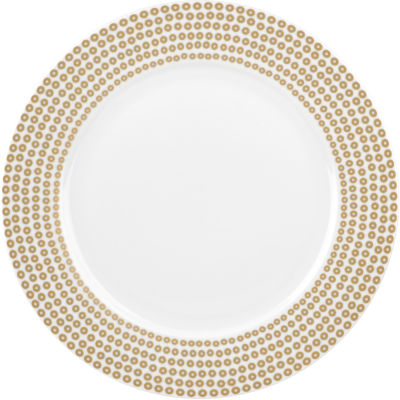 Catherine Lansfield Dinner Plate 27cm Glamour Sequin Gold