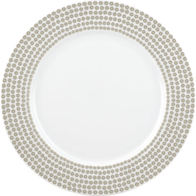 Catherine Lansfield Dinner Plate 27cm Glamour Sequin Silver