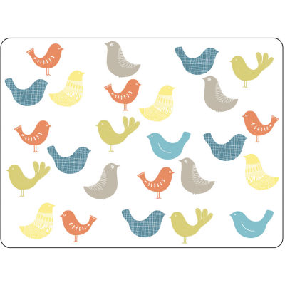Catherine Lansfield Large Placemat Set of 4 Scandi Birds