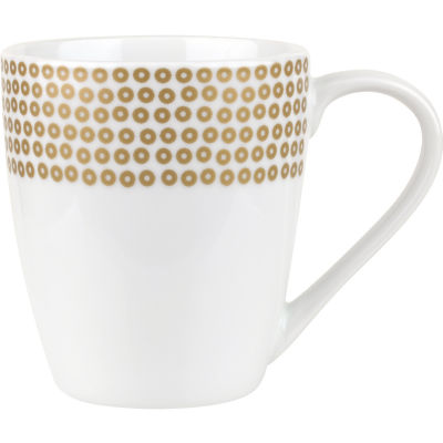 Catherine Lansfield Mug 0.34L Glamour Sequin Gold