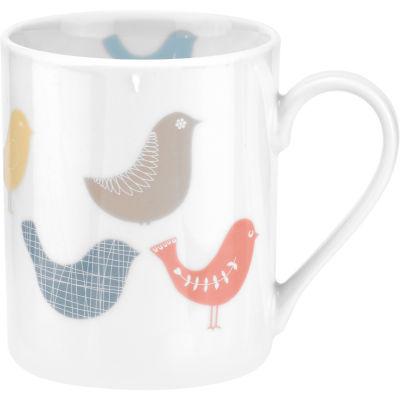 Catherine Lansfield Mug 0.34L Scandi Birds