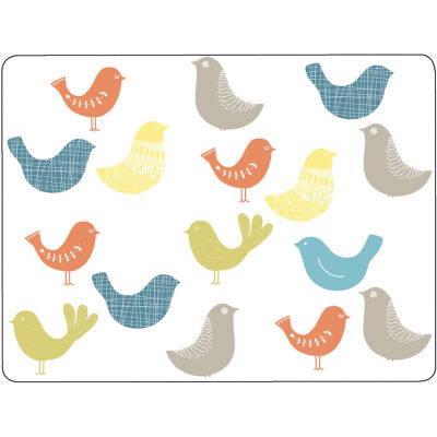 Catherine Lansfield Placemat Set of 4 Scandi Birds