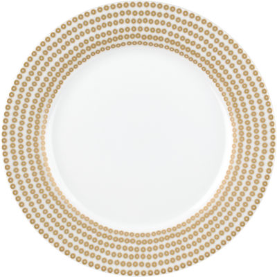 Catherine Lansfield Side Plate 19cm Glamour Sequin Gold