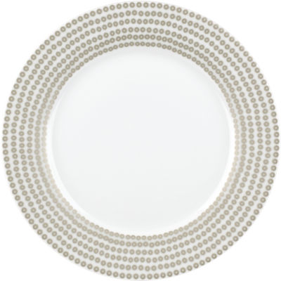 Catherine Lansfield Side Plate 19cm Glamour Sequin Silver