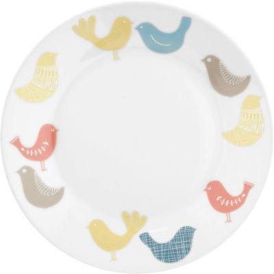 Catherine Lansfield Side Plate 19cm Scandi Birds