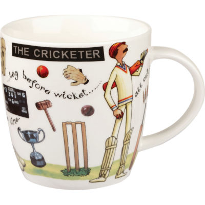 Churchill At Your Leisure Mug Cricketer