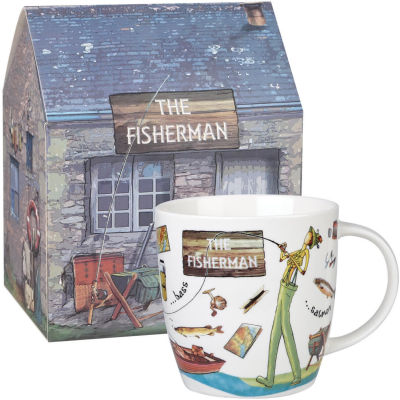 Churchill At Your Leisure Mug Fisherman