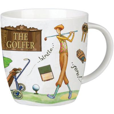 Churchill At Your Leisure Mug Golfer