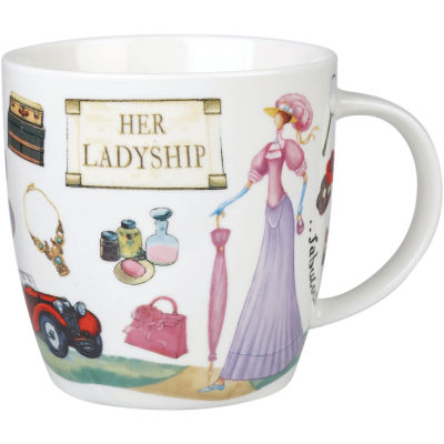 Churchill At Your Leisure Mug Her Ladyship