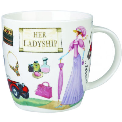 Churchill At Your Leisure Mug His Lordship & Her Ladyship Set of 2