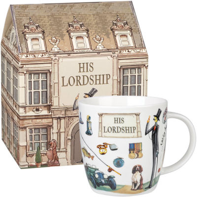 Churchill At Your Leisure Mug His Lordship