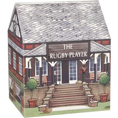 Churchill At Your Leisure Mug Rugby Player