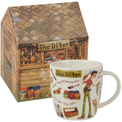 Churchill At Your Leisure Mug The DIYer