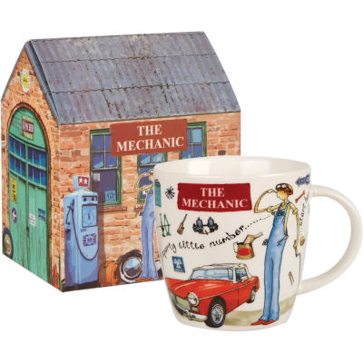 Churchill At Your Leisure Mug The Mechanic