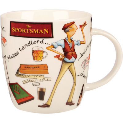 Churchill At Your Leisure Mug The Sportsman