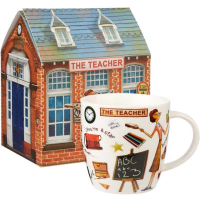 Churchill At Your Leisure Mug The Teacher