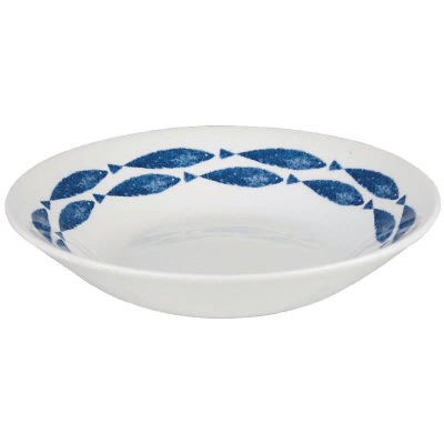 Churchill Aura Cereal Bowl 15.5cm Fishie Border