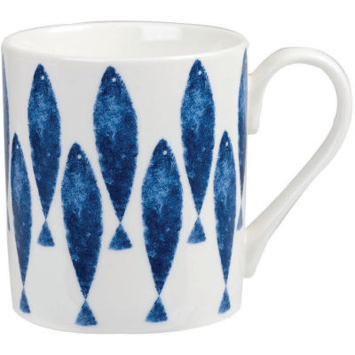 Churchill Aura Mug Sieni Fishie Set of 4