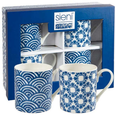 Churchill Aura Mug Sieni Kochi Set of 4