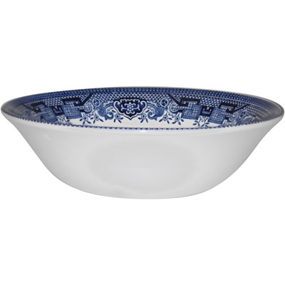 Churchill Blue Willow Cereal Bowl 15.5cm
