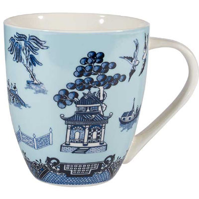 Churchill Blue Willow Large Mug Willow Blue