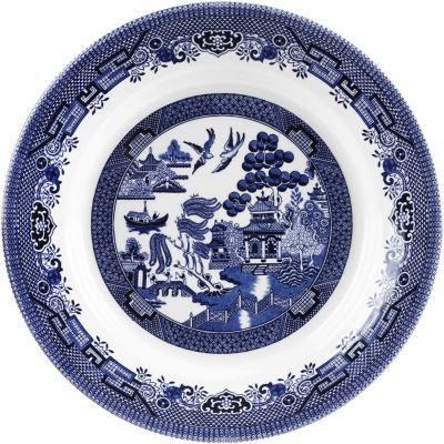Churchill Blue Willow Pasta Dish 28.5cm