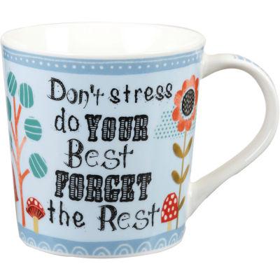 Churchill Bramble & Rocket Collection Bramble & Rocket Mug Don't Stress