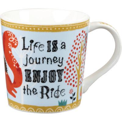 Churchill Bramble & Rocket Collection Bramble & Rocket Mug Enjoy The Ride
