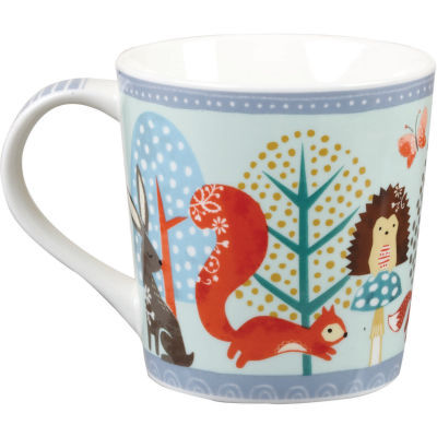 Churchill Bramble & Rocket Collection Bramble & Rocket Mug Make You Smile