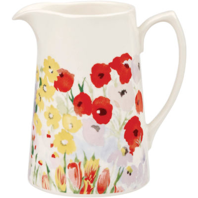 Collier Campbell Jug 0.5 Pint Painted Garden