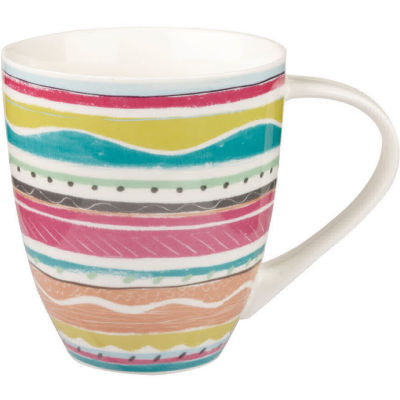 Collier Campbell Large Mug Riviera Stripe