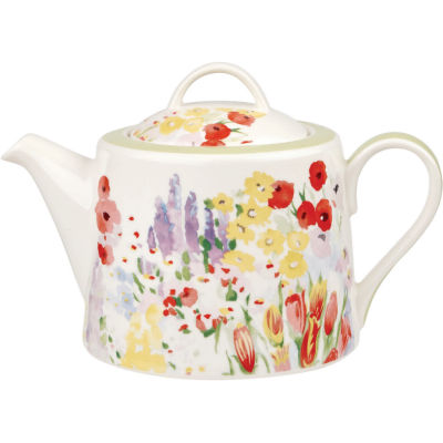 Collier Campbell Teapot Painted Garden