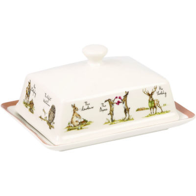 Churchill Country Pursuits Butter Dish