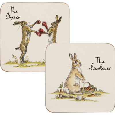 Churchill Country Pursuits Coaster Set of 6