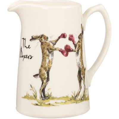 Churchill Country Pursuits Cream Jug The Boxers Hare