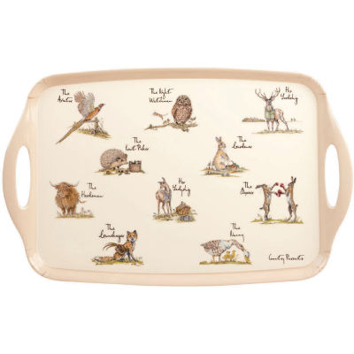 Churchill Country Pursuits Melamine Tray Large