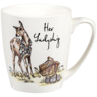 Churchill Country Pursuits Mug Acorn Her Ladyship Deer