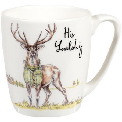 Churchill Country Pursuits Mug Acorn His Lordship Stag