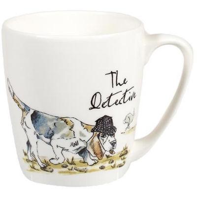 Churchill Country Pursuits Mug Acorn The Detective Hound Dog